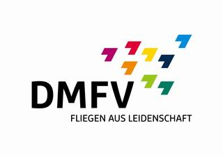 Logo des DMFV in weiß
