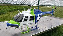 Foto vom Modellflughubschrauber Bell 206 Jet Ranger 3
