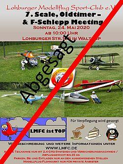 Plakat Einladung F-Schlepp 2020