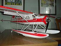Foto vom Wasserflugzeug Beaver