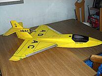 Foto vom Wasserflugzeug Polaris im ADAC Design