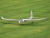 Foto vom Easyglider bei der Landung