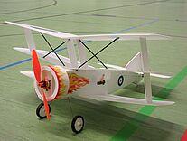 Foto einer Fokker DR 3
