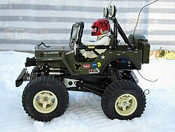 RC US Army Jeep