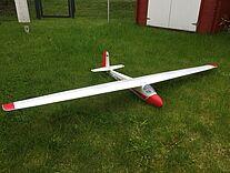 Foto einer KA-8 von Parkzone