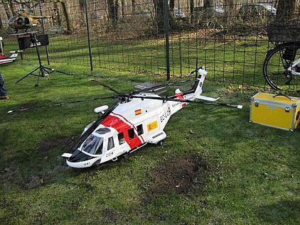 Modell Hubschrauber Agustawestland AW 136