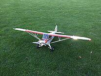 Foto einer Piper Super Cub 25e von Eflite