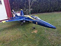 F18 Hornet von Generic Fly, Modell Jet