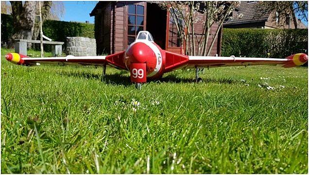 Foto Modellflug De Haviland Venom von Freewing