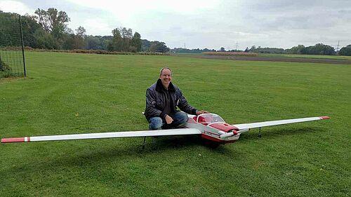 Erstflug SF25C Falke 1:3 von Bräuer