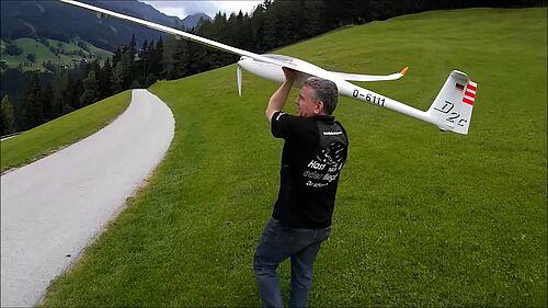 Discus 2C 4,5m De Luxe Topmodel Starts und Landung, Dr.Düsentrieb