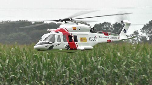 """Agusta Westland AW-139 von U.Brauner, schönstes LMFC-Vereinsmodell 2014 - Kategorie """"Hubschrauber"""", Bernd - Der Luftpirat -"""