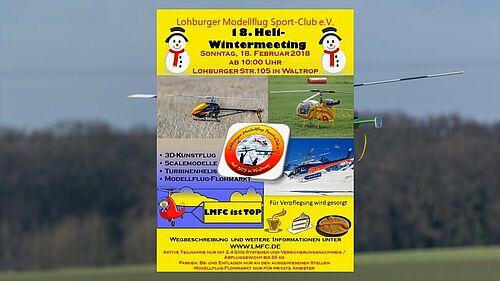 18. Heli-Wintermeeting beim LMFC-Waltrop, Quadro-Howi