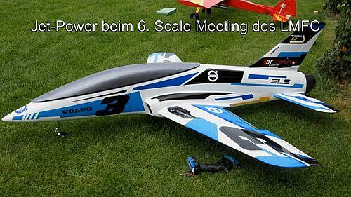 Jet-Power beim 6. Scale Meeting des LMFC, Quadro-Howi