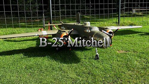 B-25 Mitchell RC-Modell, Quadro-Howi